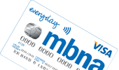 MBNA Everyday card