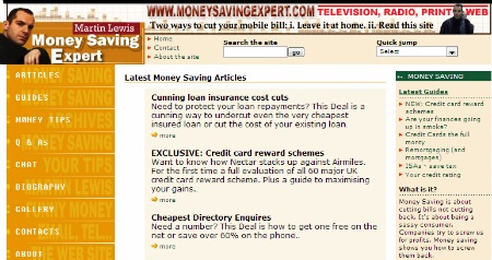 MoneySavingExpert.com version 2