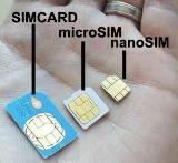 Micro vs nano vs standard Sim