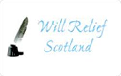 Will relief Scotland logo