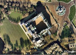 Buckingham Palace on Google Earth