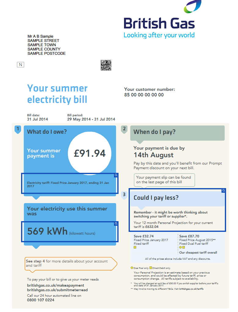 british gas page 1