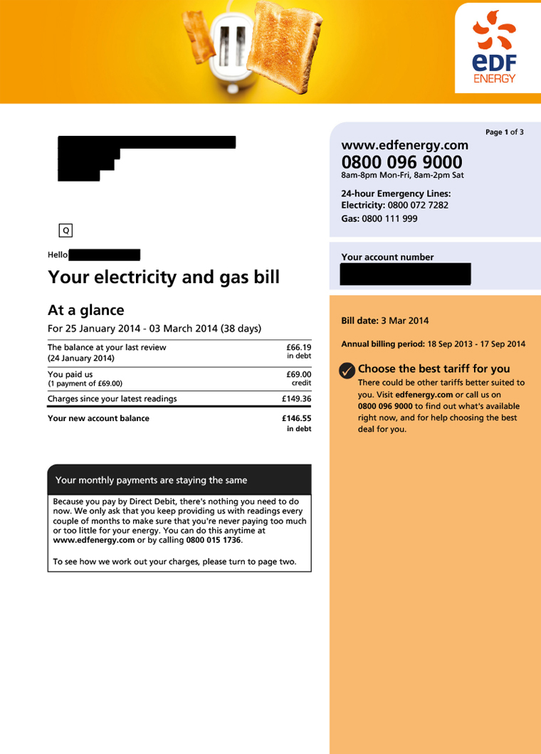 Energy Bills Explained Understand Them Amp Save 163 100s Mse