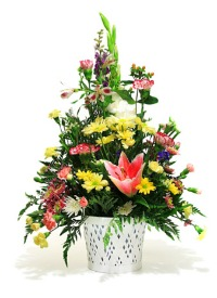 picture of funeral flowers