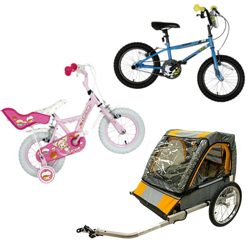 Halfords kids' bikes