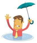 Check for flood risk to avoid danger
