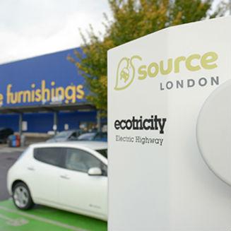 Ikea free electric car charging