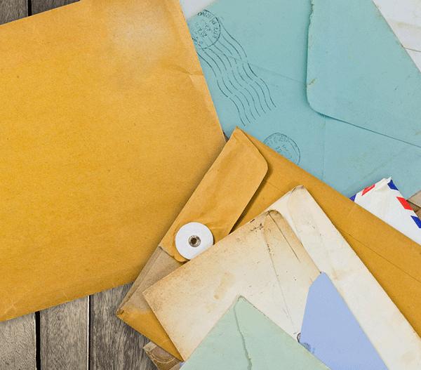Image, envelopes