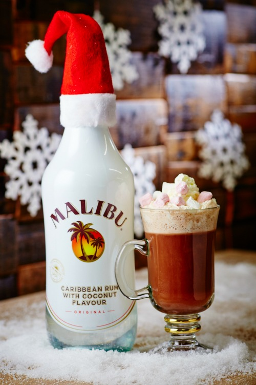 Free Malibu hot chocolate