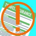 Travel insurance expiry warning