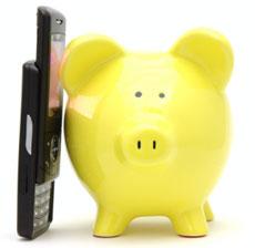 Piggy bank calling
