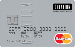 Creation Everyday* - Worldwide 0% load & no cash withdrawal fee