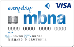 MBNA Everyday Credit Card 20/20