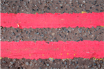 Double red line