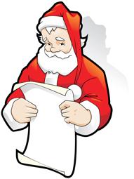Smiley Santa
