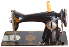 Sewing machine: Save money the old fashioned way