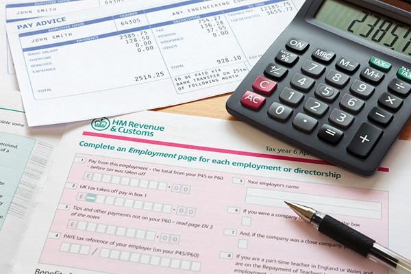 reclaim tax on work uniform