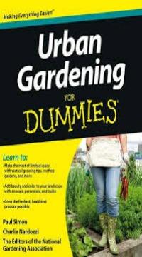 39 Urban Gardening For Dummies 39 Book Giveaway