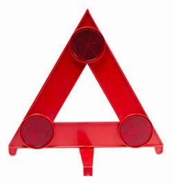 Van breakdown triangle
